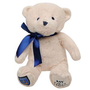 Football-Club-Team-Fans-Supporters-Bow-Neck-My-First-Soft-Toy-Cuddly-Teddy-Bear