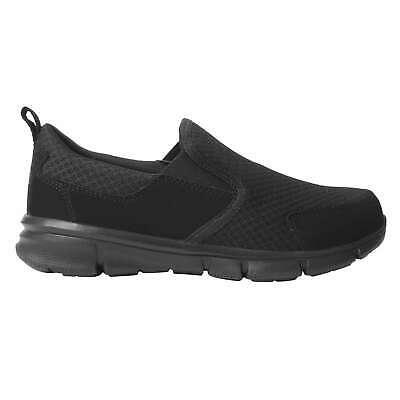 Slazenger Mens Zeal Slip On Trainers Sports Shoes Mesh Upper Everyday