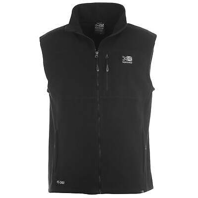 Mens Karrimor Fleece Gilet Zip New