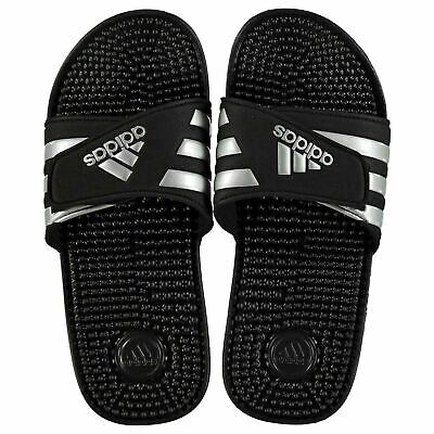 Adidas Mens Womens Adissage Slider Sandals Pool Shoes Slip On Lightweight Strap