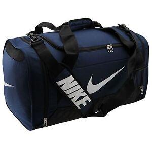 255602d0a67edb Nike Brasilia 6 Medium Grip Duffle Bag Navy Gym Holdall Sports Bag