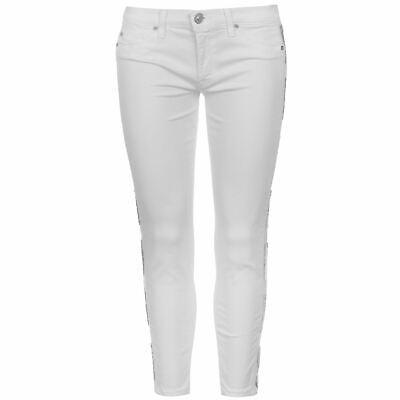 Hudson Jeans Skinny Ladies Pants Trousers Bottoms Lightweight Zip Slim Fit Block