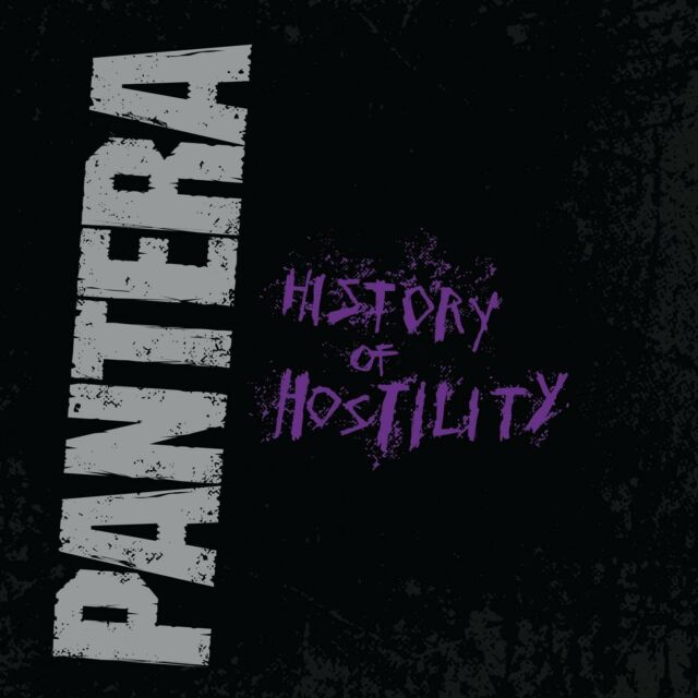 PANTERA - HISTORY OF HOSTILITY  VINYL LP NEU