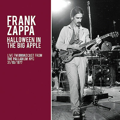 FRANK ZAPPA New 2019 UNRELEASED 1977 HALLOWEEN NEW YORK CITY LIVE CONCERT - Halloween Frank Zappa