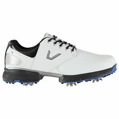 Slazenger Mens V300 Golf Shoes Spiked Lace Up Spikes