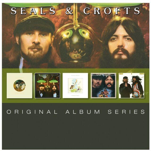 SEALS & CROFTS 5CD NEW Summer Breeze/Diamond Girl/Unborn Child/I'll Play/Closer