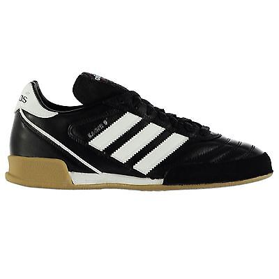 check out 5edf3 8d8f3 adidas Kaiser Goal Indoor Trainers Mens Bk Wh Football Soccer Fusbal Shoes