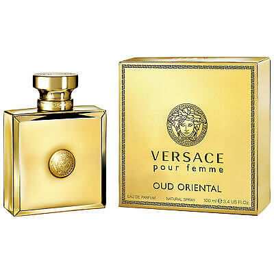 Versace Oud Oriental Eau de Parfum 100ml Spray * BRAND NEW, BOXED & SEALED *