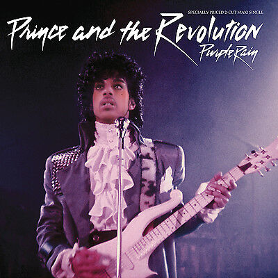 Prince PURPLE RAIN / GOD Limited Edition NEW PURPLE COLORED VINYL 12