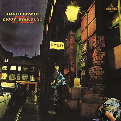 David Bowie Rise And Fall Of Ziggy Stardust   The Spiders Of Mars Lp Gold Vinyl