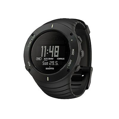 Suunto Core Ultimate Black - The Outdoor Watch - Altimeter Compass - SS021371000