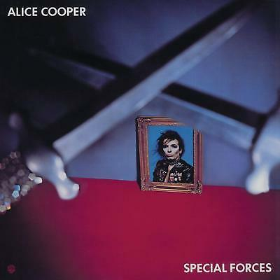 ALICE COOPER SPECIAL FORCES LIMITED BLUE VINYL LP (2017)