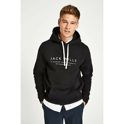 Mens Jack Wills Batsford Popover Hoodie OTH Hooded New