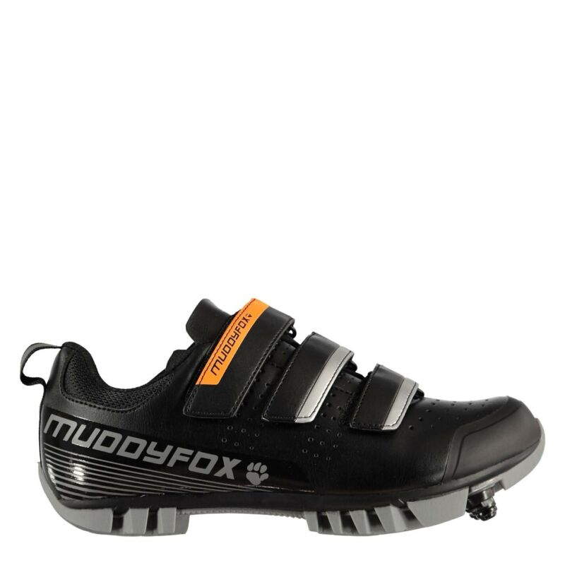 Muddyfox MTB100 Youngster Cycling Shoes Boys MTB Ventilated Water Repellent