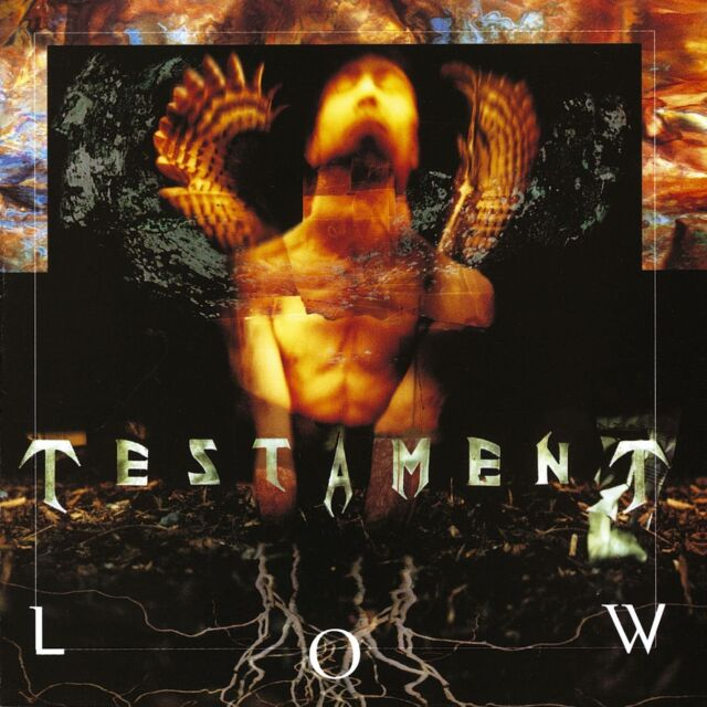 TESTAMENT LOW CD ALBUM (2004)