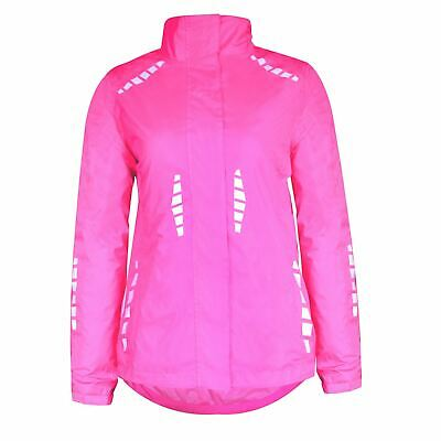 Donnay Reflective Jacket Ladies Running Coat Top