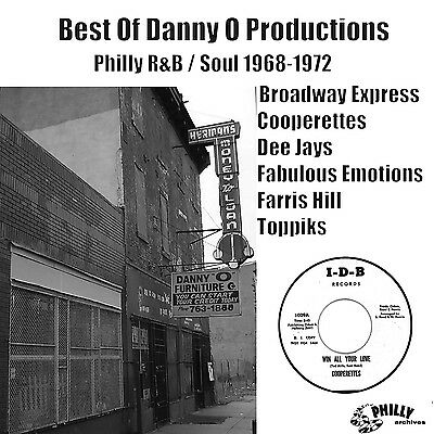 Best of Danny O Productions - Philly R&B / Soul 1968-1972 -