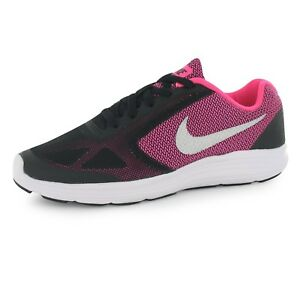 Nike Revolution 3 Youth Girl's Running Shoes - Size 5Y
