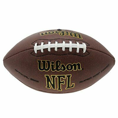 Wilson NFL American Football Ball Trainingsball Ultra Grip Technologie
