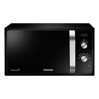 Samsung MS23F301EAK | 800W Freestanding Microwave Oven in Black