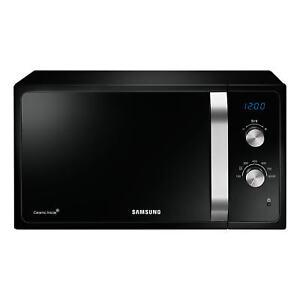 Samsung Ms23f301eak 800w Freestanding Microwave Oven In Black