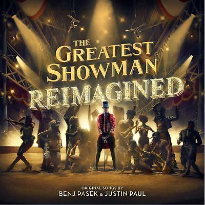 THE GREATEST SHOWMAN REIMAGINED CD - NEW RELEASE 2018 (JESS GLYNNE, PINK)