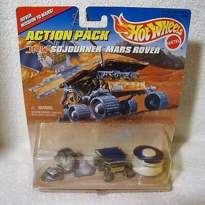 1996 Hot Wheels Mars Rover Action Pack Mattel NIP