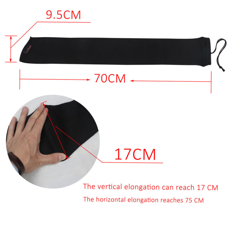 "Tourbon Gun Sleeve Sock Bag Silicone Treated Hunting Mossberg Shockwave 28"" USA"