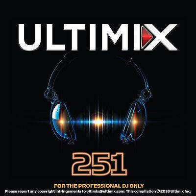 Ultimix 251 CD Chris Stapleton Justin Zedd Kesha Imagine Dragons J.Lo Tiesto