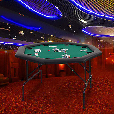 Green Poker Game Table - 48