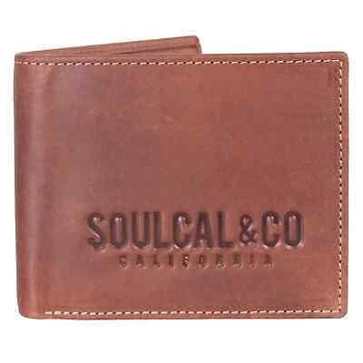 Unisex SoulCal Cal Sig Wallet 81 New