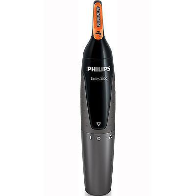 Philips NT3160 Series 3000 Nose Ear & Eyebrow Hair Trimmer Cordless Waterproof