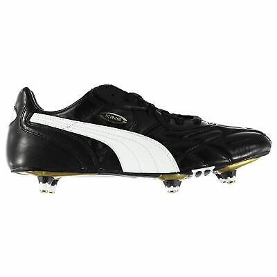 Puma Mens King Pro SG Football Boots Soft Ground Lace Up Studs Leather Upper