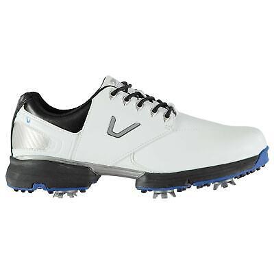 Slazenger Mens V300 Golf Shoes Spiked Lace Up Lightweight