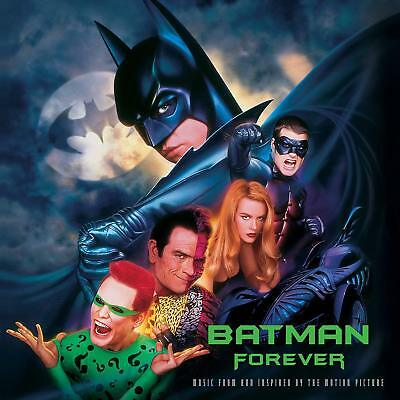 BATMAN FOREVER SOUNDTRACK 140 GRAM DOUBLE VINYL LP (Released 14/09/2018)