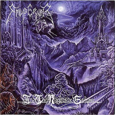 EMPEROR - In the Nightside Eclipse Album Cover Art black Metal KVLT