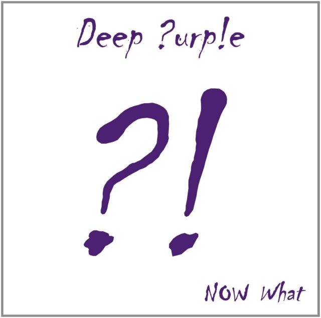 DEEP PURPLE - NOW WHAT? CD & DVD SET (April 29th 2013)