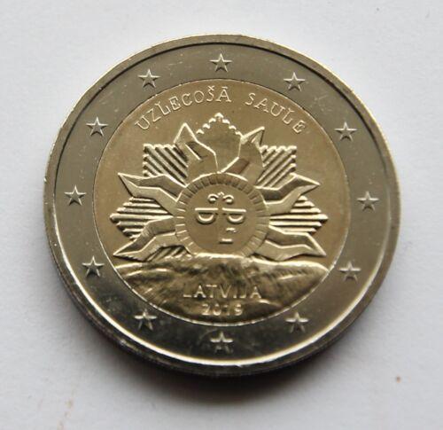LATVIA - 2 € Euro commemorative coin 2019 - The rising sun (UNC coin)