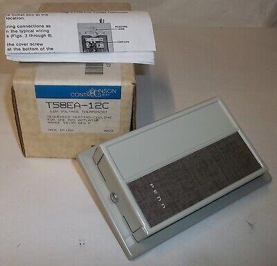 Johnson Controls Penn M20 M25 Damper Actuator Low Voltage Thermostat T58ea-12c