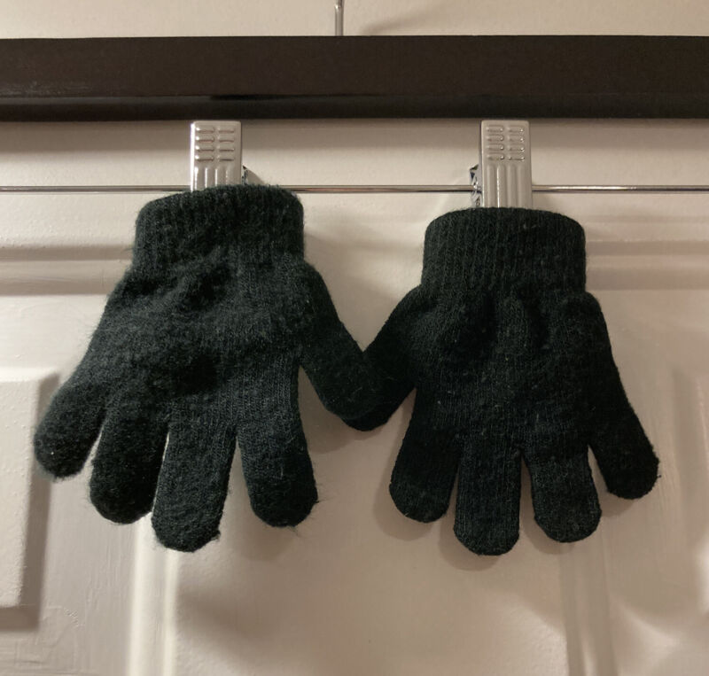 Unbranded Toddler Unisex Gloves BLACK