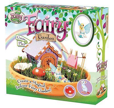 Children Kids Girls My Fairy Garden Fairy Garden Grow Play Toy Set