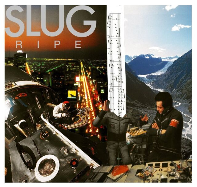 Slug Ripe white vinyl LP w/ download NEW/SEALED
