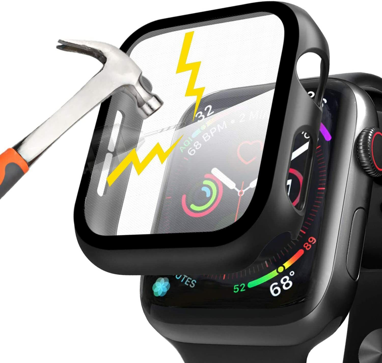 Cinturino orologio silicone Apple Watch Serie 5/4/3/2/1 38/40mm 42/44mm + COVER