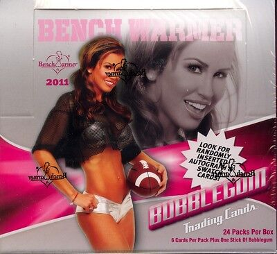 Benchwarmers 2011 Bubble Gum Trading Card Box MINT