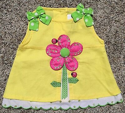 Girls 3 6 Months Embellished Rare Editions Top Perfect Condition Gorgeous