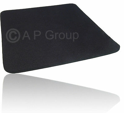 BLACK Hi Quality Mouse Mat Pad - Foam Backed Fabric 5mm * 3 for the price of 2 *
