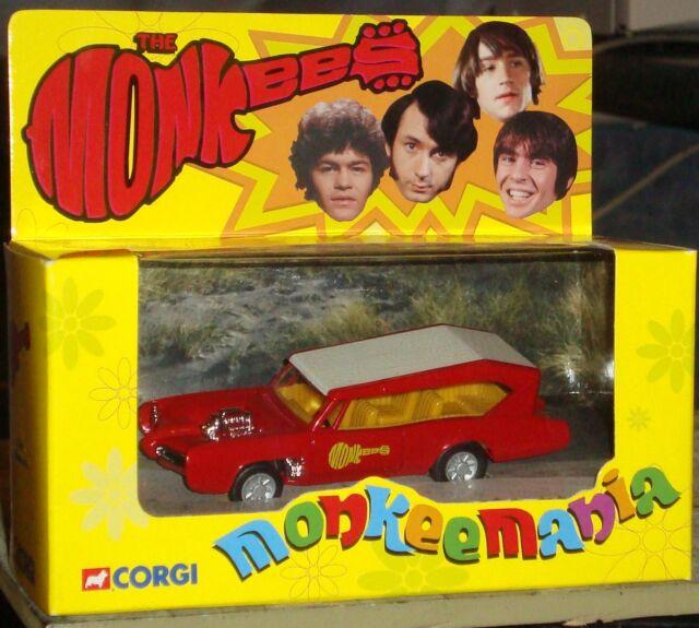 CORGI - THE MONKEEMOBILE - MINT & BOXED - CC52405 - c2001 - BARGAIN!