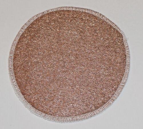 "Lustersheen 5"" diameter Bronze Wool Polishing Pad ` Great shower tile cleaner!!"