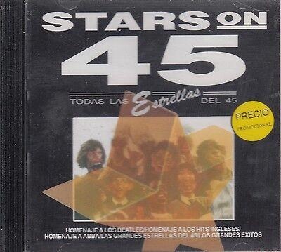 Stars On 45 Homenaje a Los Beatles ABBA  CD New Sealed