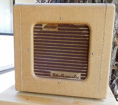 "1955 RARE GRETSCH TWEED Electromatic  10"" 12 Watts VALCO 6V6s MINTY ORIGINAL"